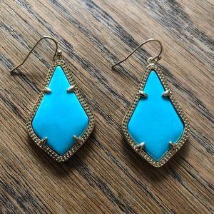 Kendra Scott Alex earring in turquoise